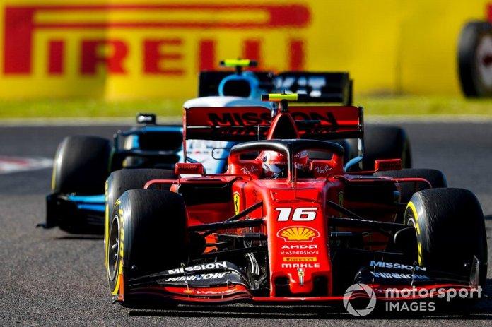 6 - Charles Leclerc, Ferrari SF90,