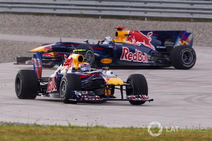 6: Mark Webber y Sebastian Vettel (Red Bull)