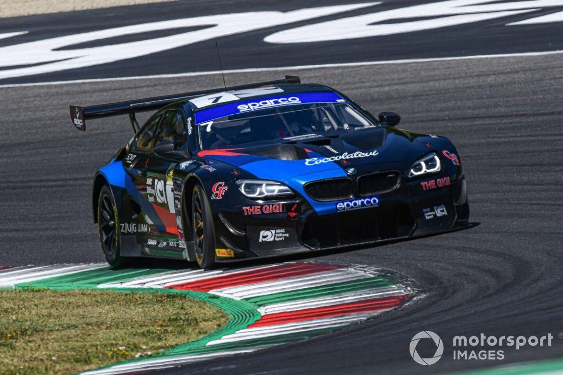 # 7 Ceccato Motors Racing-BMW Team Italia, BMW M6 GT3: Stefano Comandini, Marius Zug, Bruno Spengler
