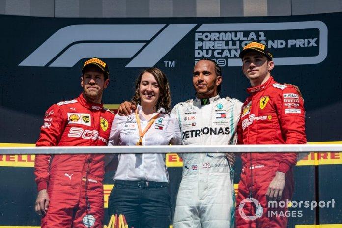 Tercero en el GP de Canadá