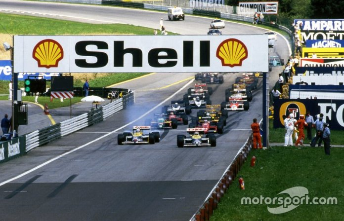 10. GP de Austria 1987: Nigel Mansell y Nelson Piquet (Williams)
