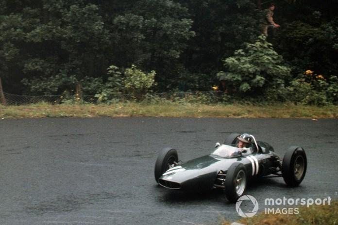 27: Graham Hill, BRM P57