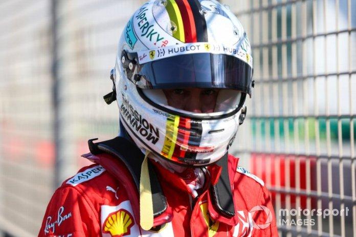 5º Sebastian Vettel, Ferrari: 58 puntos (baja dos posiciones respecto a 2018)