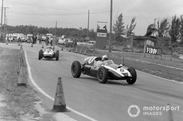 Jack Brabham, Cooper T51 Climax, Bruce McLaren, Cooper T51 Climax