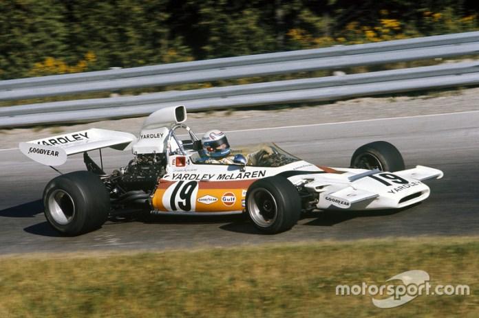 40: Peter Revson, McLaren M19C
