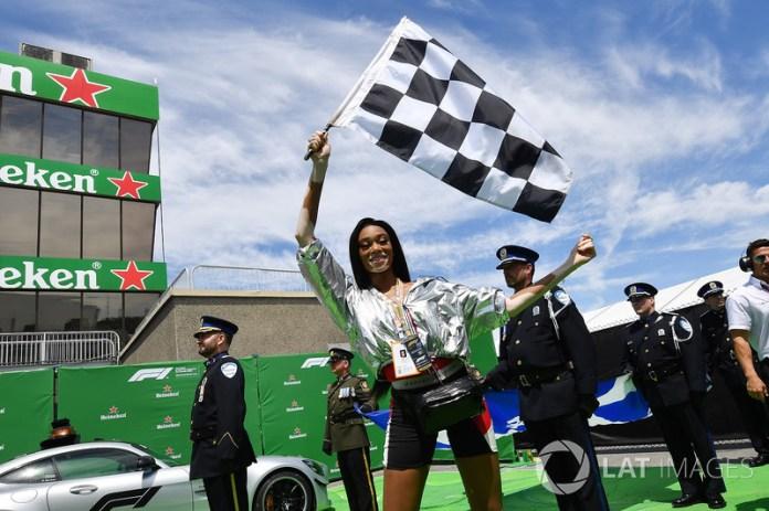 GP de Canadá 2018: el error de una modelo