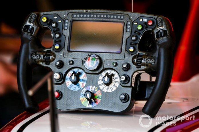 Volante del Alfa Romeo Racing C39