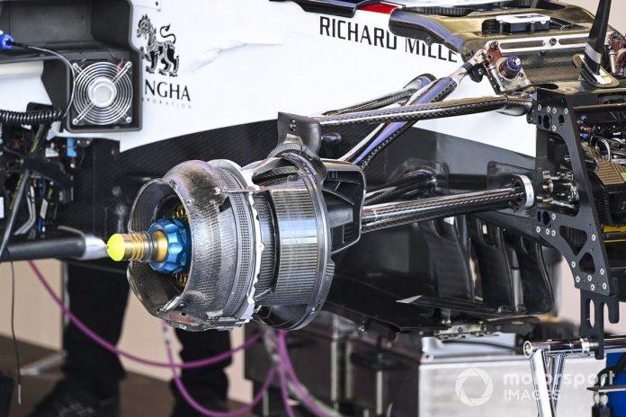 Freno delantero del Alfa Romeo Racing C39