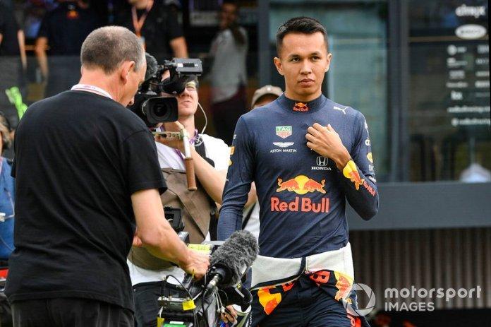 Alex Albon, Red Bull