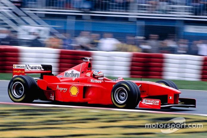 Ferrari F300 - 6 victorias
