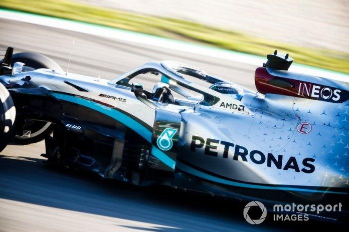 1º Valtteri Bottas, Mercedes F1 W11: 1:15.732 (con neumáticos C5)