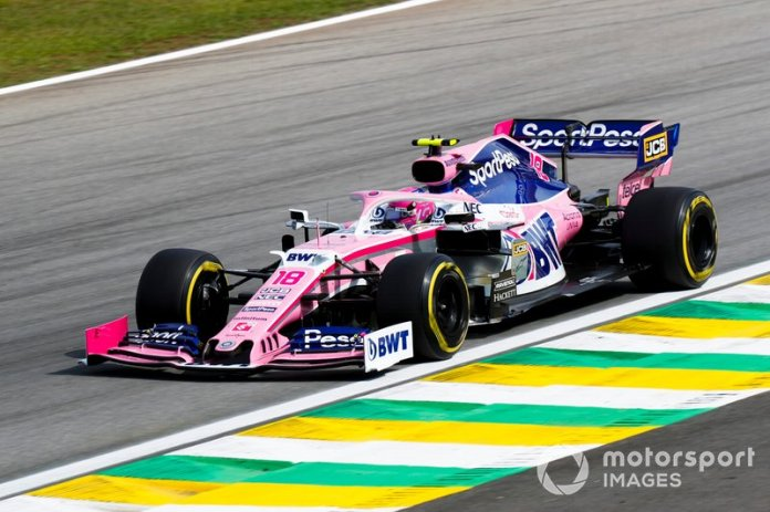 19º Lance Stroll, Racing Point RP19 retiro