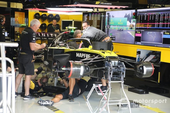 Renault F1 Team R.S.19, brake