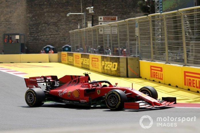*Charles Leclerc, GP de Azerbaiyán (Nuevo Récord)