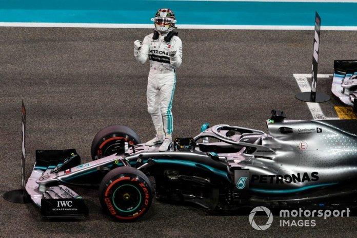 1º Lewis Hamilton, Mercedes AMG F1: 169 puntos (repite resultado desde 2015)