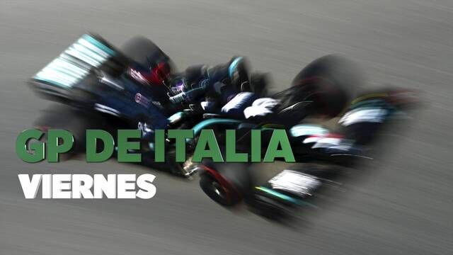 GP de Italia F1 resumen del viernes
