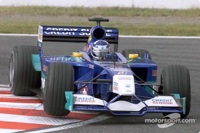 Kimi Raikkonen, Sauber-Petronas C20, 2001