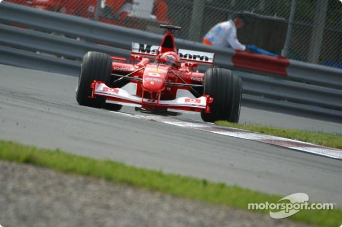 Ferrari F2002 - 15 victorias