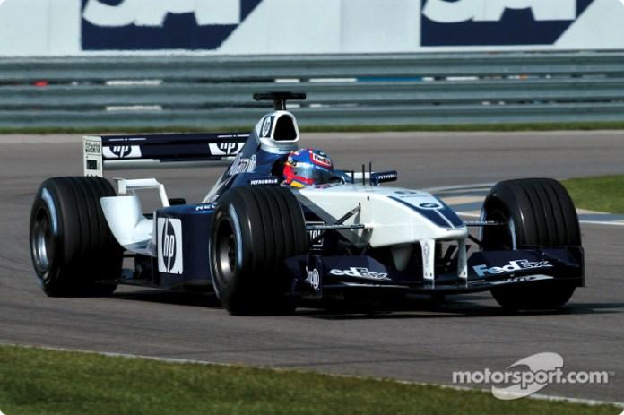 2002 (Juan Pablo Montoya, Williams-BMW FW24)