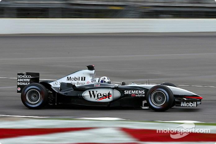 2002-2003: McLaren-Mercedes MP4-17D