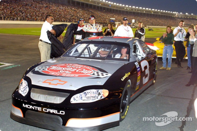 Richard Childress in the Dale Earnhardt Tribute Car at Charlotte II