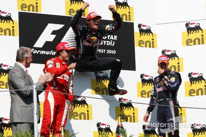 60- Fernando Alonso, 2º en el GP de Hungría 2010 con Ferrari