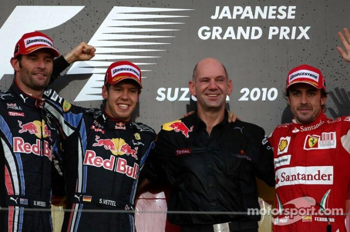 63- Fernando Alonso, 3º en el GP de Japón 2010 con Ferrari