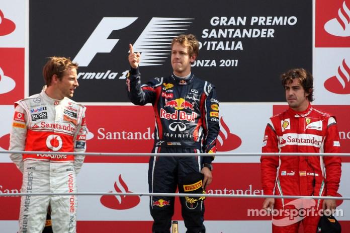 72- Fernando Alonso, 3º en el GP de Italia 2011 con Ferrari