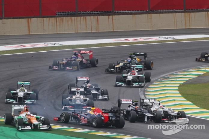 4.- Gran Premio de Brasil 2012