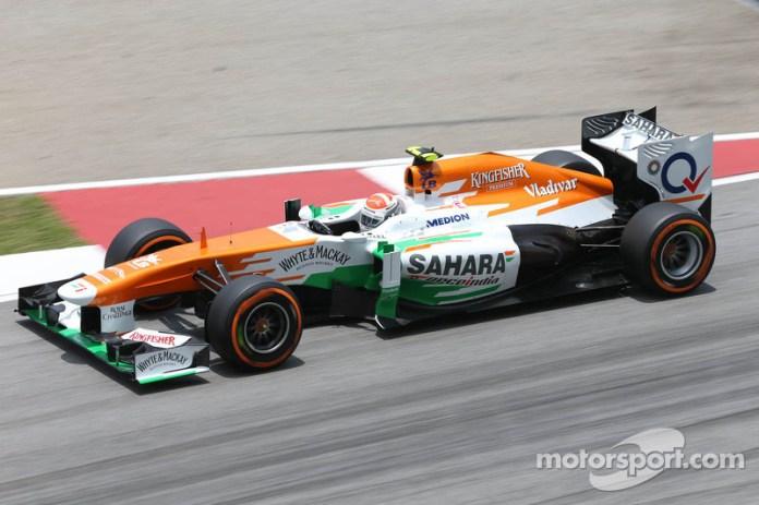 Adrian Sutil - 1 GP liderado