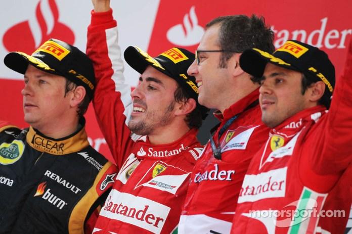 91- Fernando Alonso, 1º en el GP de España 2013 con Ferrari