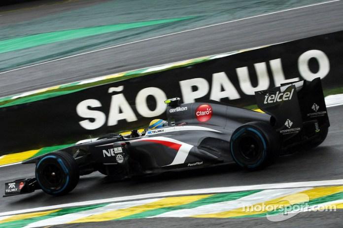 Esteban Gutiérrez, Sauber C32, 2013