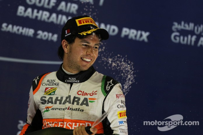 GP de Bahréin 2014 (Force India)-3° lugar