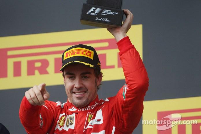 99- Fernando Alonso, 2º en el GP de Hungría 2014 con Ferrari