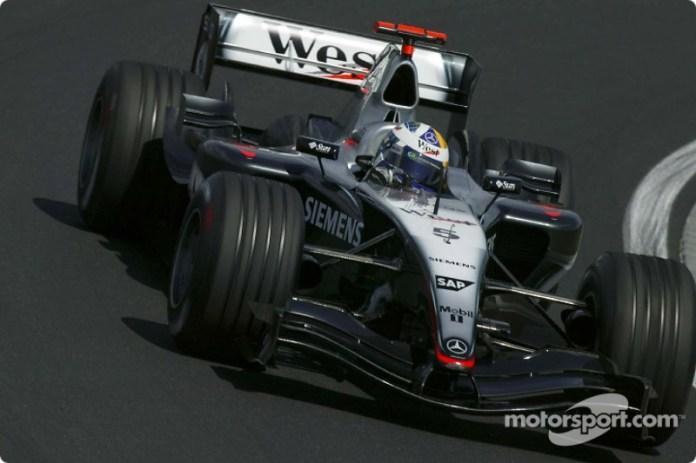 David Coulthard, McLaren MP4/19B (2004)