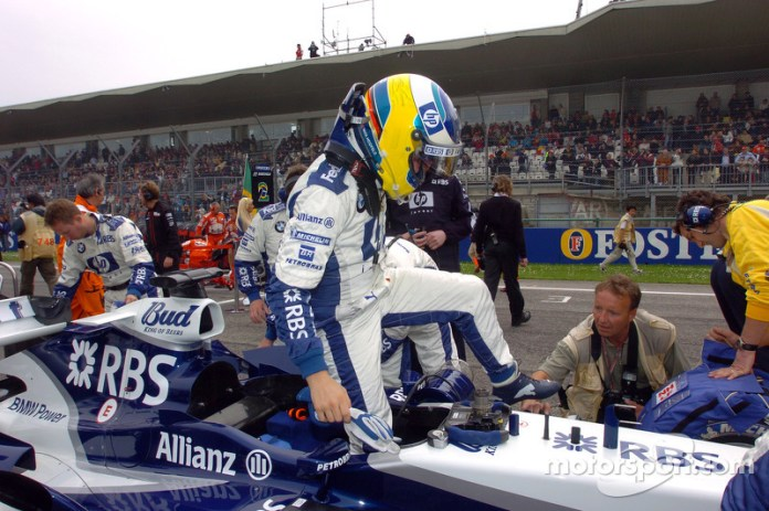 87: Nick Heidfeld, Williams-BMW