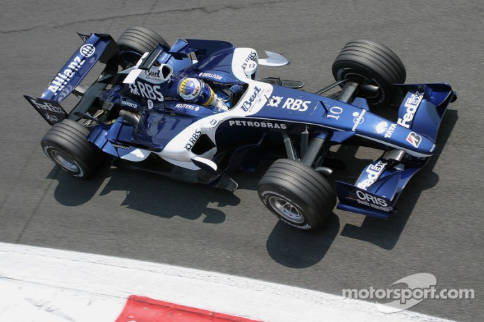 Nico Rosberg, Williams-Cosworth FW28, 2006