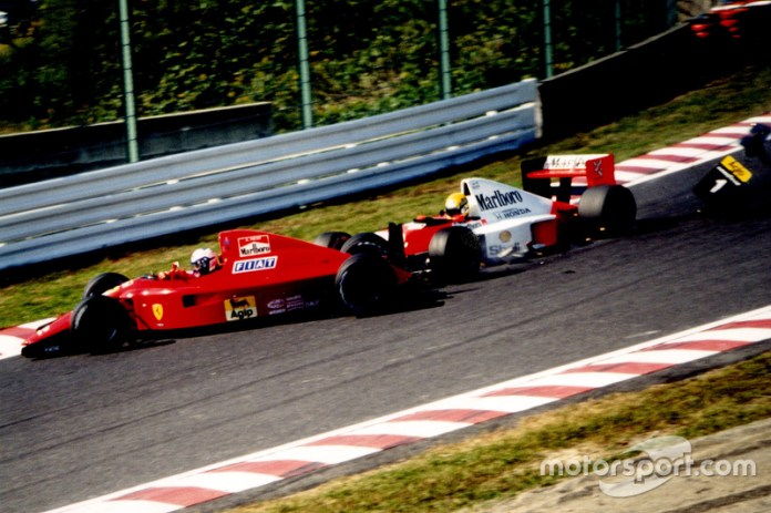 En 1990 (con otro 'accidente' con Prost)