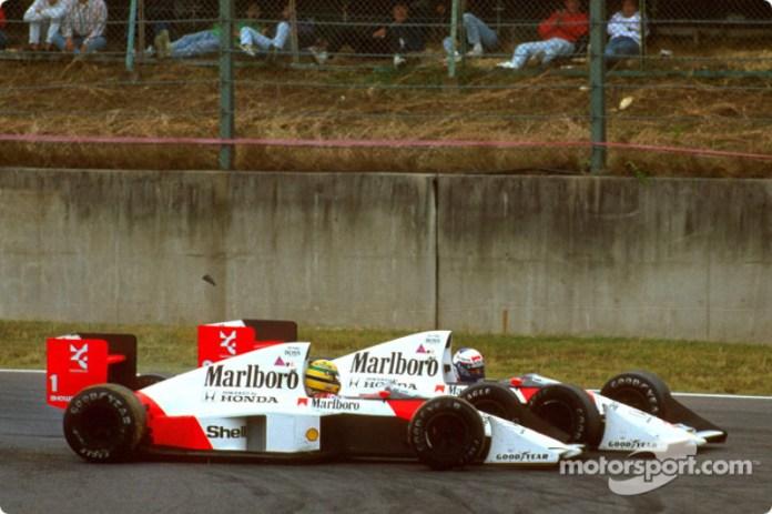 Senna vs Prost
