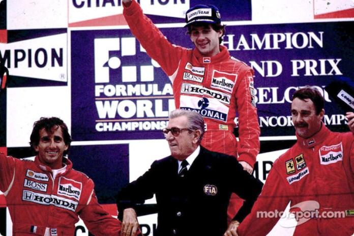 1989: al final no puede competir con McLaren