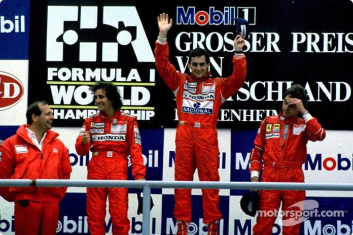 18. GP de Alemania 1988: Ayrton Senna y Alain Prost (McLaren)