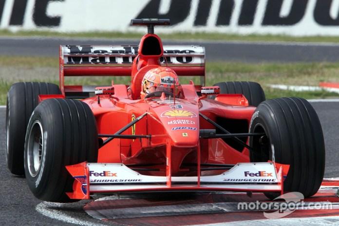 Ferrari F1-2000 - 10 victorias
