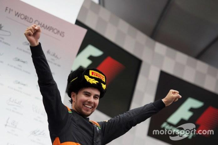 Podio GP de Rusia 2015: tercer lugar