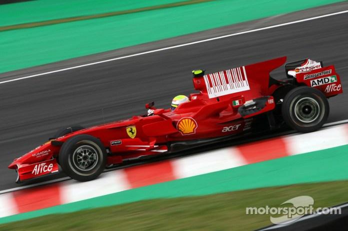 Ferrari F2008 - 8 victorias