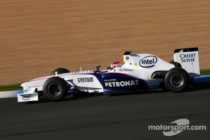 Robert Kubica, BMW Sauber F1 Team F1.08, 2008