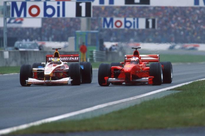 Ralf Schumacher, Michael Schumacher 1999 GP Francez