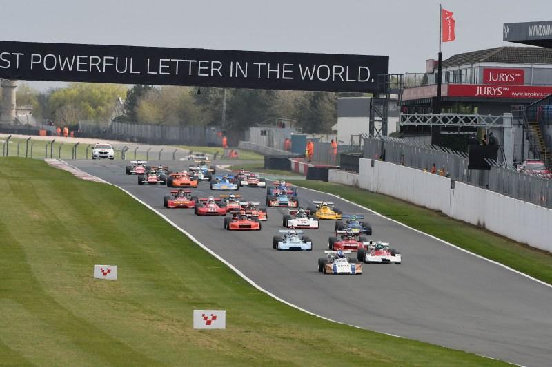 Historic Formula 2, Donington Park