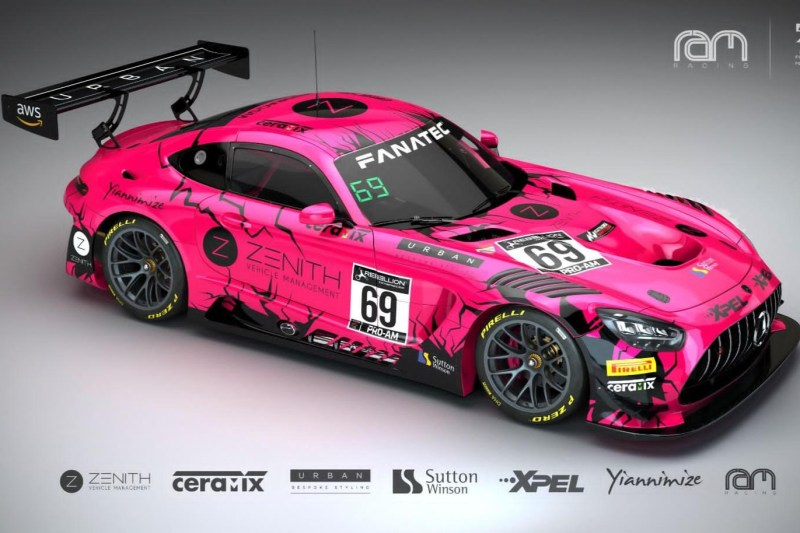 RAM Racing GTWCE 2021