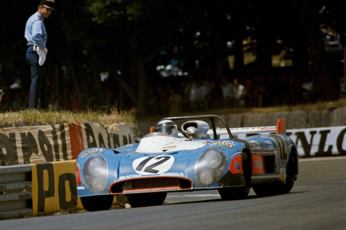 Jean-Pierre Jabouille / Jean-Pierre Jaussaud, Equipe Matra-Simca Shell, Matra-Simca MS670B Le Mans 1973