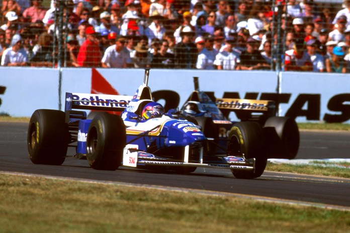Villeneuve shone on his debut and was on course to win before leaking oil allowed team-mate Hill through